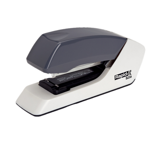 Rapid Stapler S20 S-Flat White/Grey