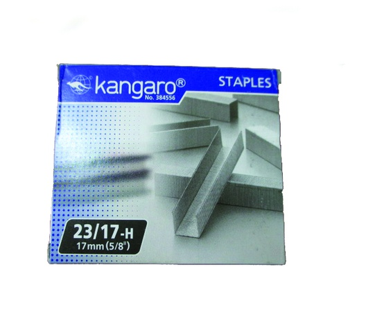 KANGARO STAPLE PINS 23/17 1000s
