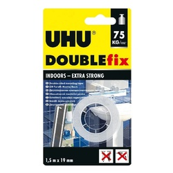 UHU Doppel Band Double Sided 1,5MX19MM 46855