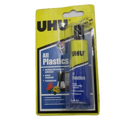 UHU Glue Plastic 33ML 37595