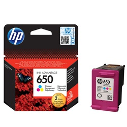 HP Ink Cartridge 650 - Colour