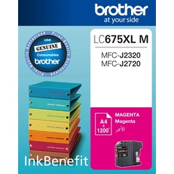 Brother Ink Cartridge Magenta LC675XL