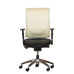 Officepoint Mid Back Office Mesh Chair KI-03W Beech