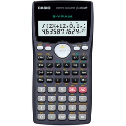 Casio FX100MS Scientific Calculator - 10 + 2 Digits Grey