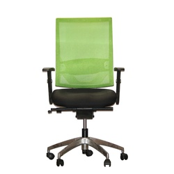 Officepoint Mid Back Office Chair KI-03W Green