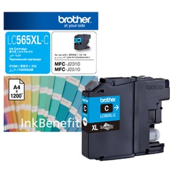 BROTHER INK CART LC565XL CYAN