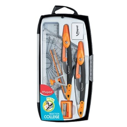 Maped Math Set Metal 9 Pieces  536919