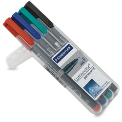 STAEDTLER MARKER PERM OHP ST318WP4F