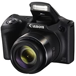 Canon Powershot SX430 IS 21MP Digital Camera 1790C002AA Black