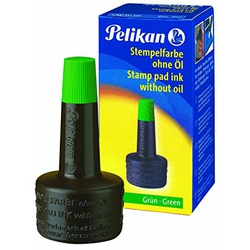 PELIKAN STAMP PAD INK  GRN