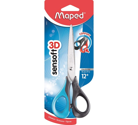 Maped Sensoft 16cm Scissors 069600