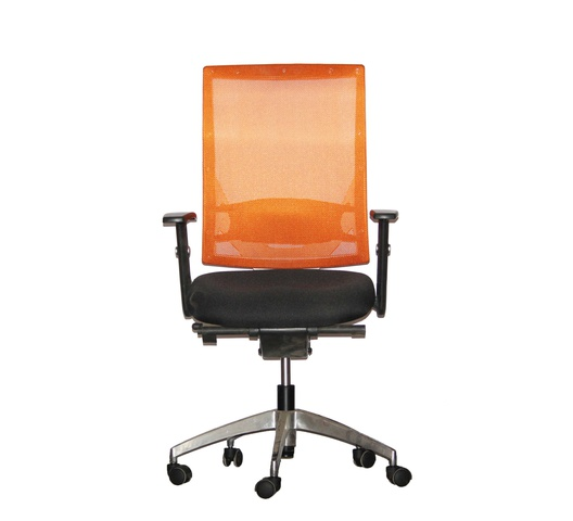 Officepoint Mid Back Office Chair KI-03W Orange