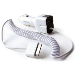 CLIPTEC CHARGER USB/CAR FOR IPAD/IPAD2 GZU393