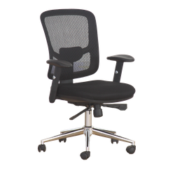 Cruze - Mesh Chair Rotated Mid Back OP-8909B (ORTHOPEDIC CHAIR)