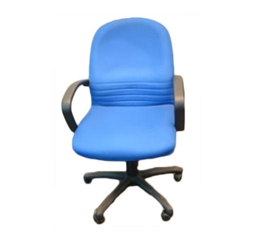 Officepoint Chair M/Back w/arms SCT 03 Blue
