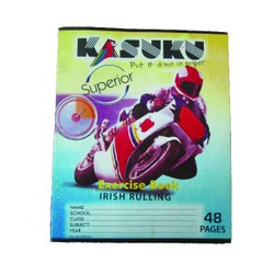 KASUKU EXERCISE BOOK A5 48PGS IRISH RULING