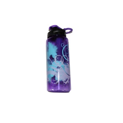 WATER BOTTLE CYLINDER PRINTED PURPLE #1049 946ML