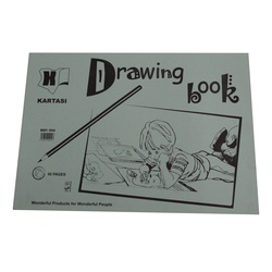 KB DRAWING BOOK A4 REF 051
