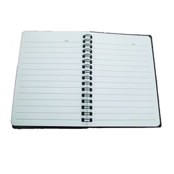 officepoint Butterfly Notebook SP-6460 Side Spiral - A6
