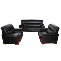 SOFA SET LEATHER 5 SEATER
