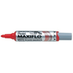 PENTEL MARKER W/BOARD MWL6 RED