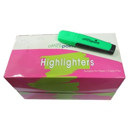 OFFICEPOINT HIGHLIGHTER GREEN HL-01