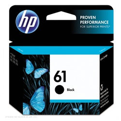 HP CART BLACK NO. 61 C561W