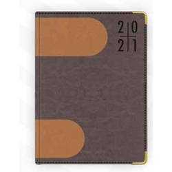 PU Cover Mix & Match A5 2021 Assorted Diary