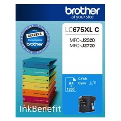 Brother Ink Cartridge Cyan LC675XL