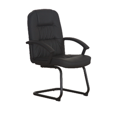 Zeta - LEATHER VISITOR CHAIR 8210V