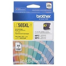 Brother Ink Cartridge Yellow LC565XL