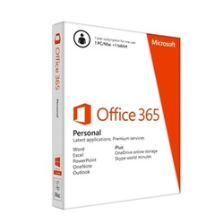 MICROSOFT OFFICE 365 PERSONAL 1USER