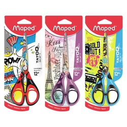 Maped Scissor Tatoo Teen Blister Pack 384020 16MM