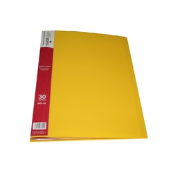 OFFICEPOINT DISPLAY BOOK 30PK US30 YELLOW