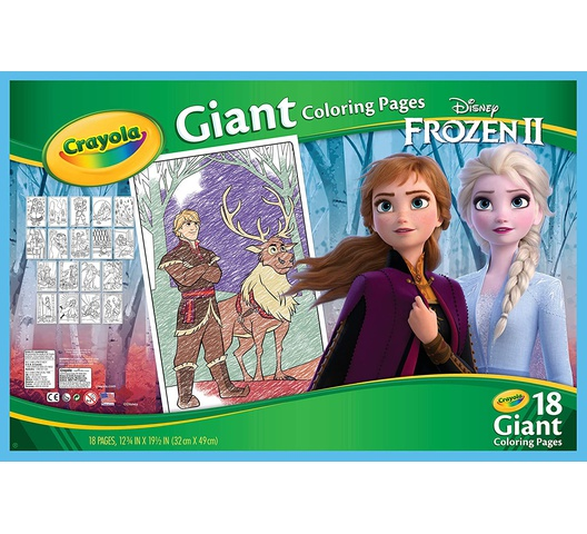 Crayola Wonder Frozen Giant Coloring Pad 04-0986