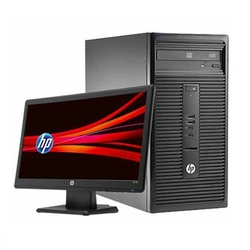 Hp Desktop Intel core i3 ,4GB Ram,500GB Harddisk,Dos,18.5 Monitor #280 GI