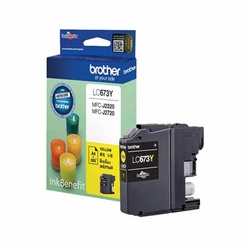 Brother Ink Cartridge Yellow  LC-673Y