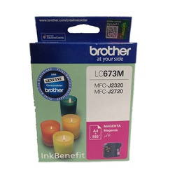 BROTHER INK CARTRIDGE LC673 MAGENTA