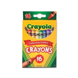 CRAYOLA CRAYONS 16COLORS #52-3016