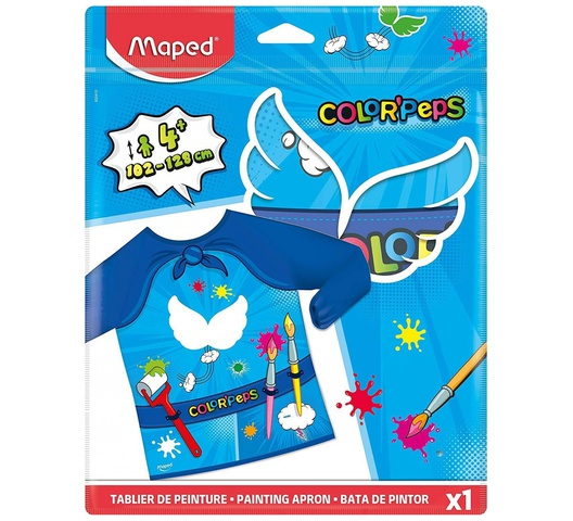 Maped Color'Peps Superhero Painting Apron 820410