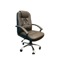 OFFICEPOINT CHAIR LEATHER H/BACK 8210