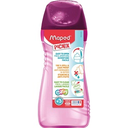 Maped Picnik Spillproof Water Bottle 430ml 871501 Pink