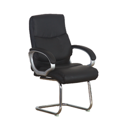 Zelos - LEATHER VISITOR CHAIR PU 1803V