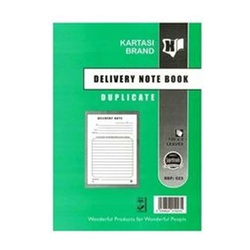 KARTASI BRAND DELIVERY BOOK A5 REF 523