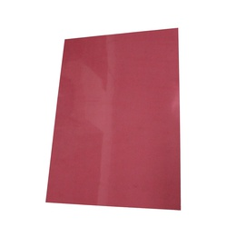 BINDING COVERS A4 CLEAR RED