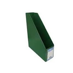 Officepoint File Rack Magazine PVC Folded DR28 Green