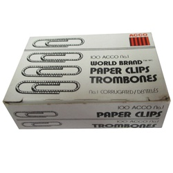 ACCO PAPER CLIPS 72381