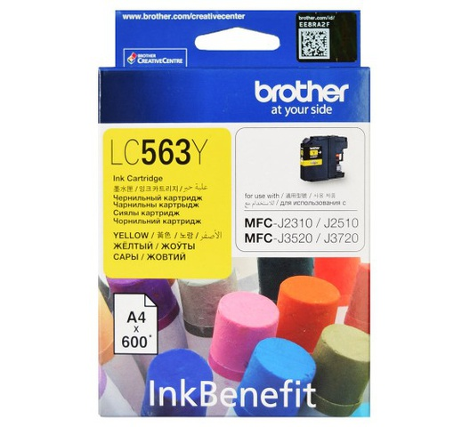 Brother Ink Cartridge Yellow LC563