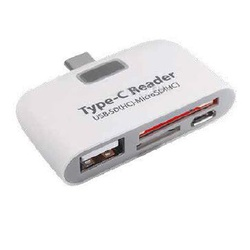 OfficePoint Type-C To USB+2 SD Ports