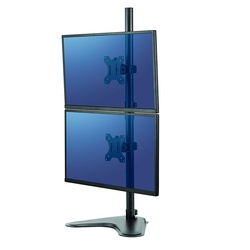 Fellowes Professional Series Free Standing Dual Stacking Monitor Arm